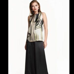 H&M Conscious Exclusive Silk Print Tank